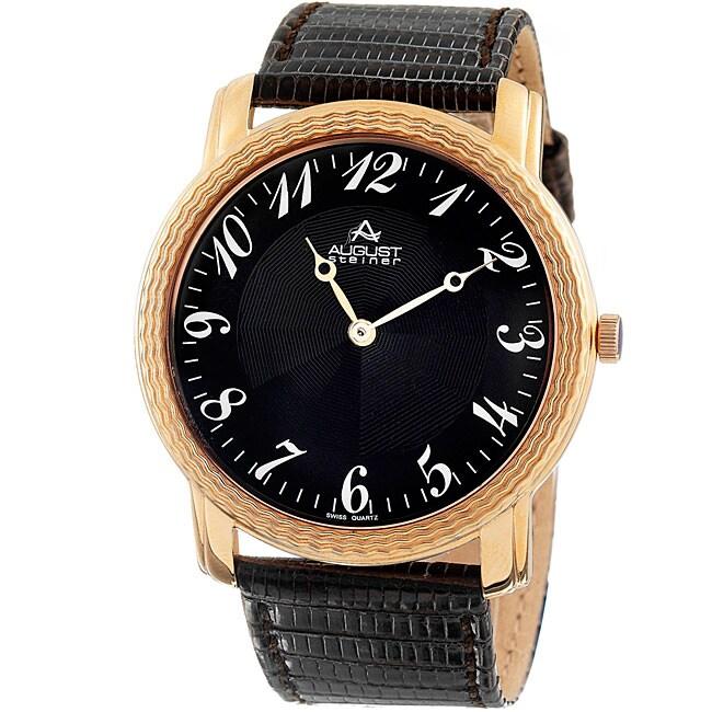 August Steiner Men's Quartz Watch