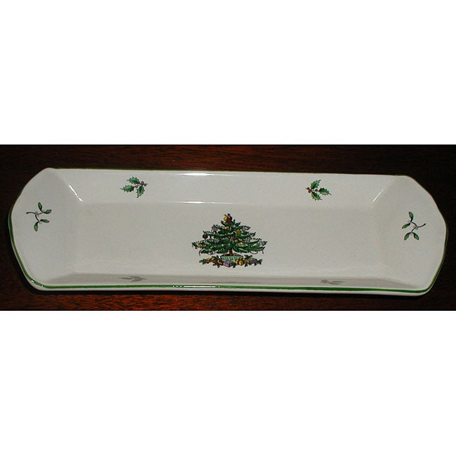 Spode Christmas Tree Mint Tray