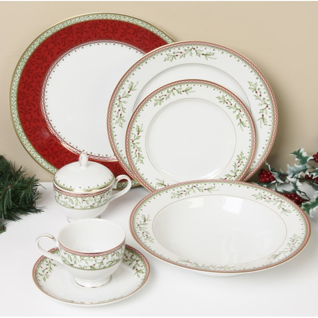 Mikasa Holiday Traditions 45-piece Dinnerware Set