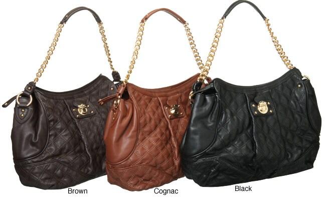 Besso Medium Quilted Chain Shoulder Strap Handbag
