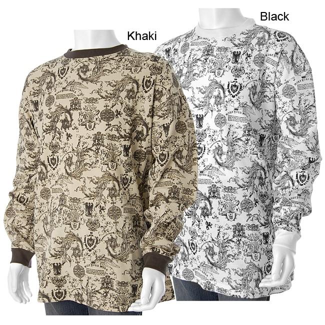 c55cdf924f099 PJ Mark Men's Multi-print Urban Thermal Shirt