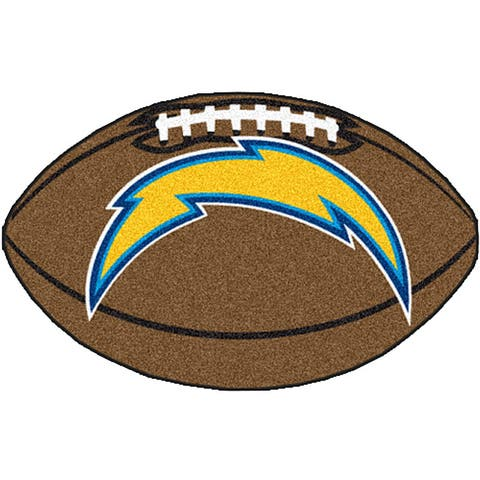 Fanmats NFL San Diego Chargers 22x35-inch Football Mat