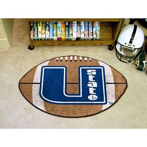 Fanmats NCAA Utah State Football Mat (22 x 35)
