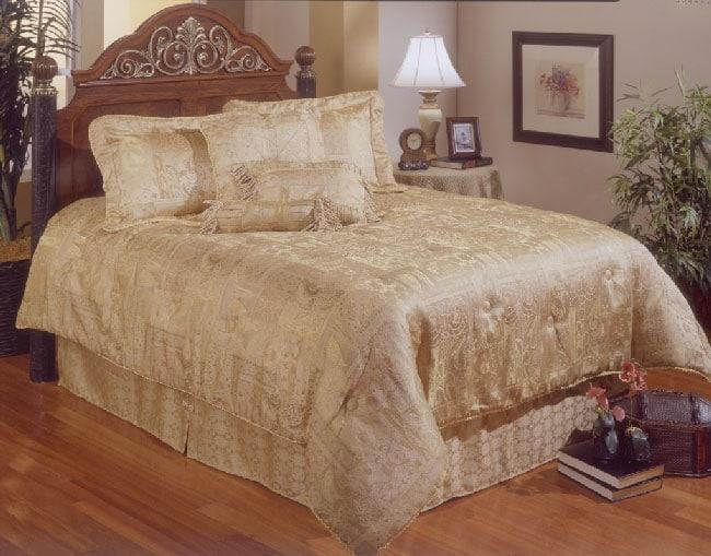 Milan Jacquard Comforter Set