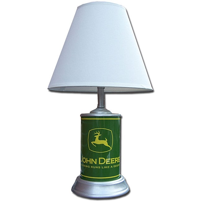 Vingage John Deere Table Lamps : John deere classic logo table lamp free shipping on
