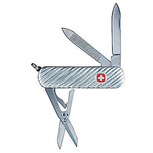 Sterling Silver Swiss Army 5-tool Knife