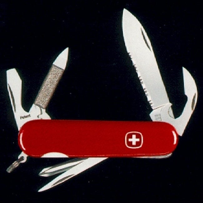 Swiss Army Serrated 11-tool Highlander Knife - Thumbnail 0