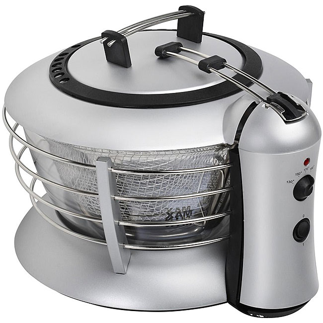 Kalorik Glass Deep Fryer And Removable Bowl Free Shipping Today Overstock Com 11544793