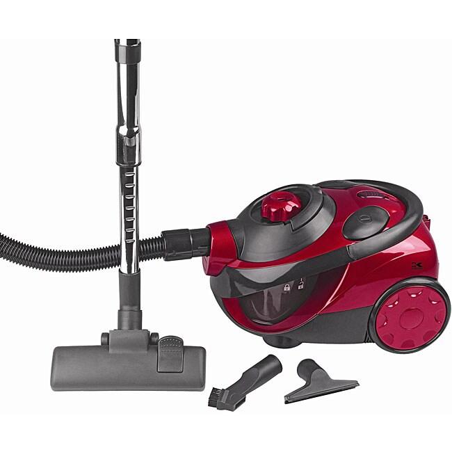 Kalorik Red Canister Cyclone Vacuum Cleaner Free