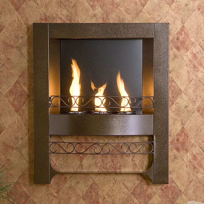 Bronze Wall Mounted Fireplace Free Shipping Today
