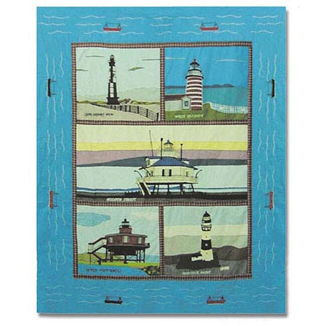 Lighthouse Gallery Throw Blanket