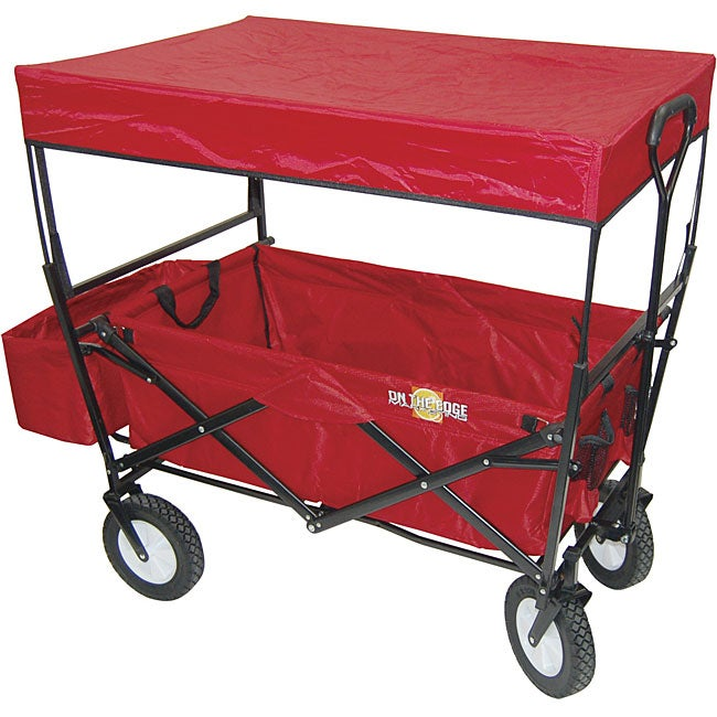 Folding Wagon with Canopy Top