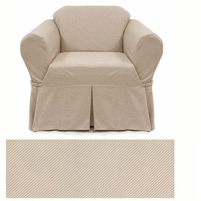 Stretch Taupe Chair Slipcover Free Shipping On Orders