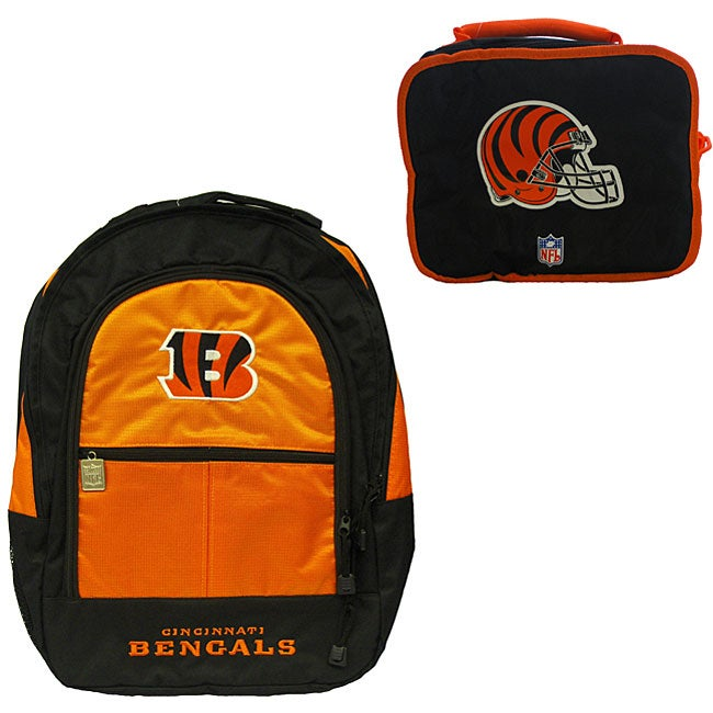 Cincinnati Bengals Backpack/ Lunchbox Combo