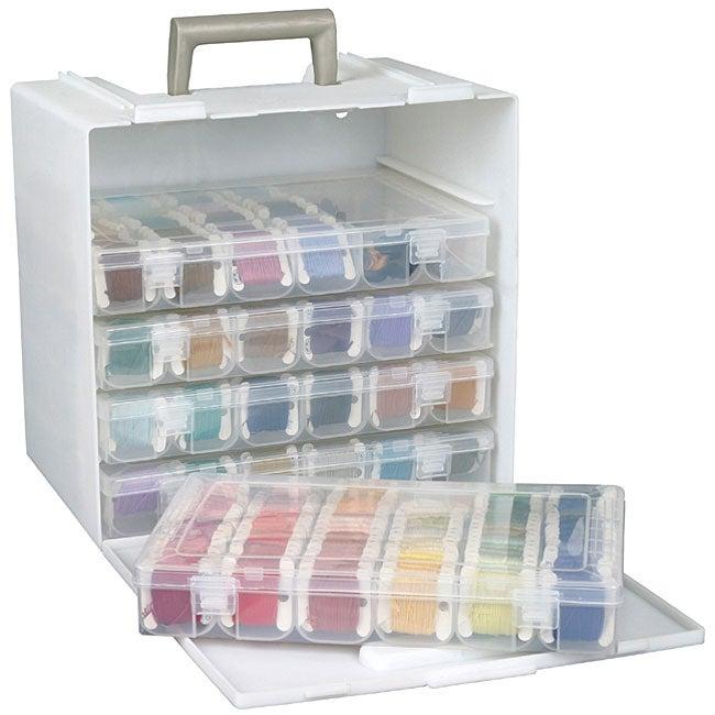 art bin cabinet and storage organizer free shipping on. Black Bedroom Furniture Sets. Home Design Ideas