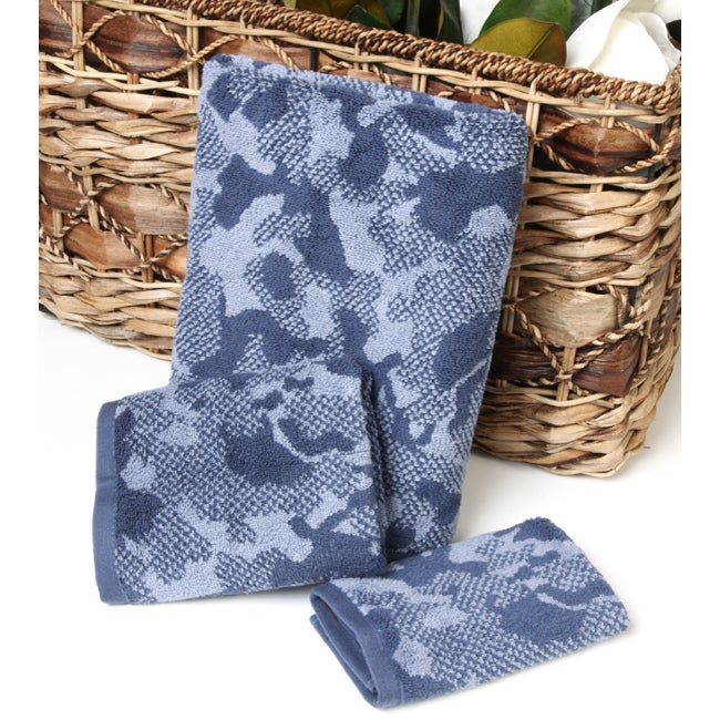 Perry Ellis 3-piece Camouflage Towel Set