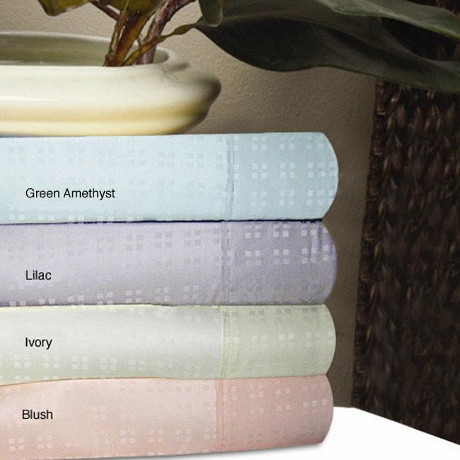 Luxury 350 Thread Count Dobby Sheet Set