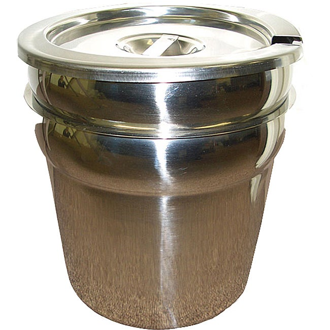 Stainless Steel 7-quart Double Boiler with Cover
