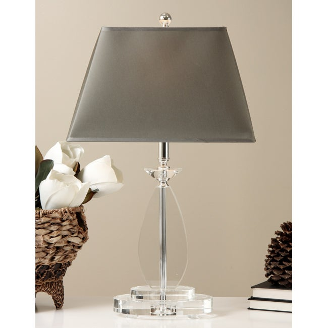 crystal base table lamp free shipping on orders over 45 11557660. Black Bedroom Furniture Sets. Home Design Ideas