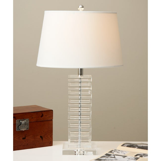 Stacked Cubes Crystal Table Lamp Free Shipping Today