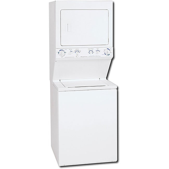Shop Frigidaire White Stacked Washer Dryer Combo Free