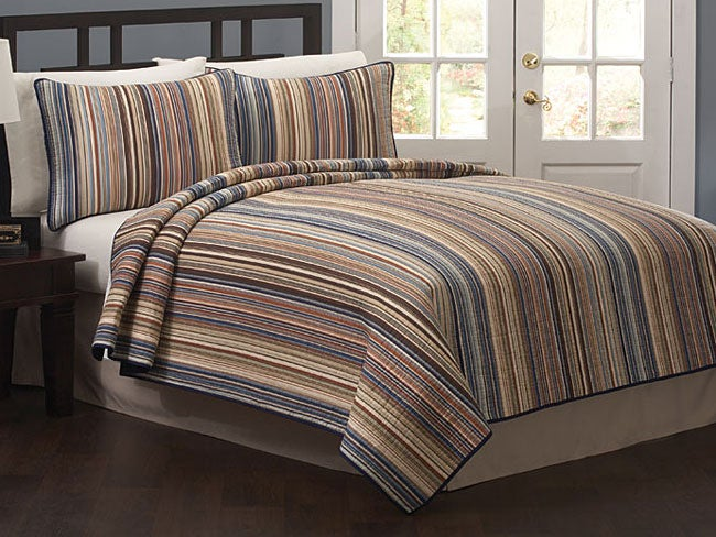 Morning Stripe Quilt Set