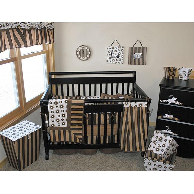 Trend Lab Hot Cocoa 4-piece Crib Bedding Set