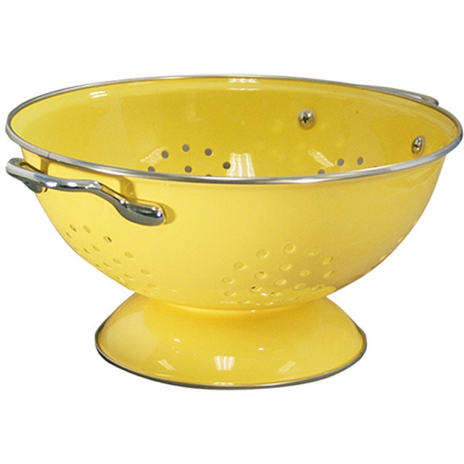 Reston Lloyd Calypso Basics 5-quart Lemon Yellow Colander