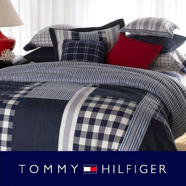 Shop tommy hilfiger brant point 3 piece comforter set free shipping today for Tommy hilfiger bedroom furniture