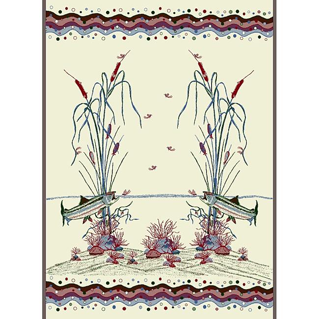 Cattails/ Pine Denali Blanket Throw