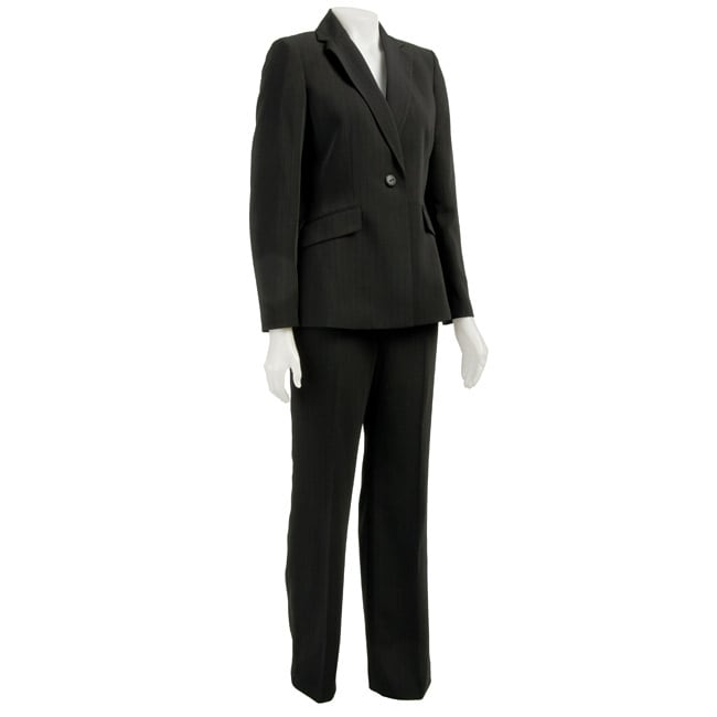 Shop Evan Picone Women S 2 Piece Pant Suit Free Shipping Today