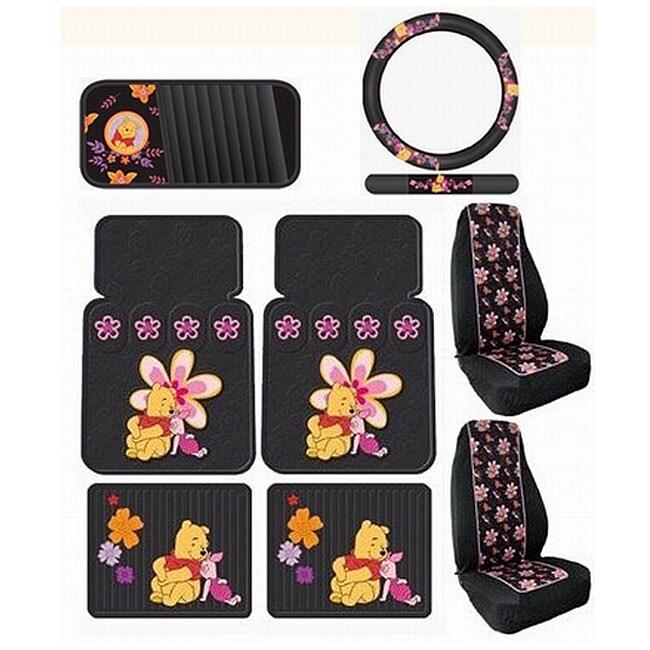 Car Seat Covers Disneyx27s Winnie The Pooh 8 Piece Accessory Set