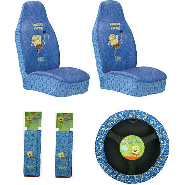 Spongebob Car Seat Covers Set
