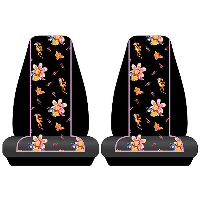 Winnie The Pooh Piglet Tigger Bucket Seat Covers Set Of 2