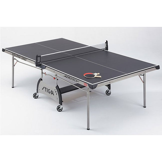 Stiga Black Top Aerotech Table Tennis Table