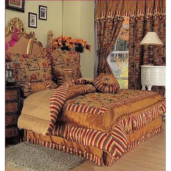 Kate Yarn-dyed 7-piece Jacquard Comforter Set