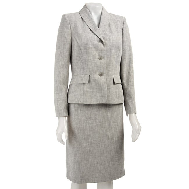 Awesome Ladies 3 Piece Skirt Suit With Tie
