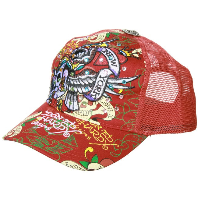36c0e32f8 ... Accessories; /; Hats; /; Women's Hats. Ed Hardy 'New York  City' Skull Hat