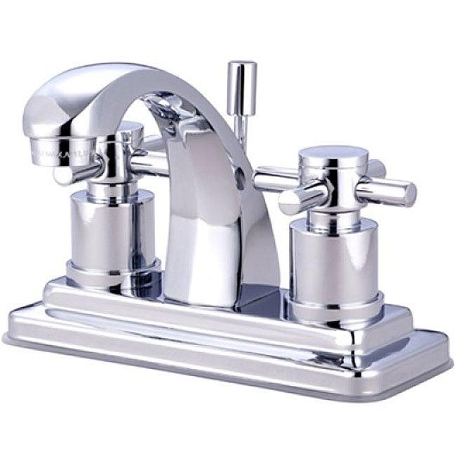 Concord 4-inch Cross-handle Bathroom Faucet