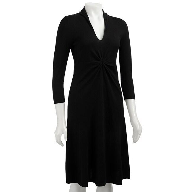 Jones New York Women's V-neck Sweater Dress