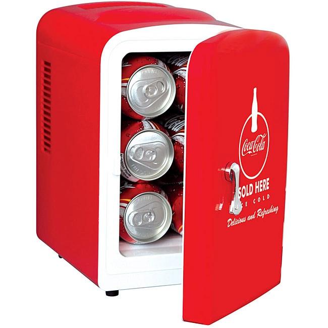 Shop Koolatron Coca Cola Personal Fridge Free Shipping