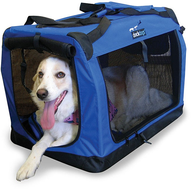 DockDogs Large Portable Dog Crate