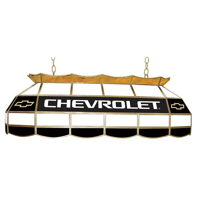Licensed Chevy 40-inch Stained Glass Tiffany-style Light