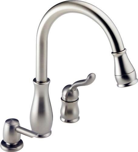 delta leland kitchen faucet reviews delta leland kitchen faucet free shipping today 23508