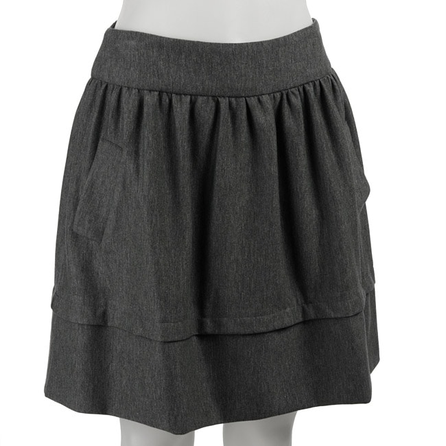 Necessary Objects Junior's Skirt with Pockets
