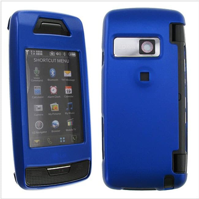Snap-on Rubber-coated Case for LG VX10000 Voyager