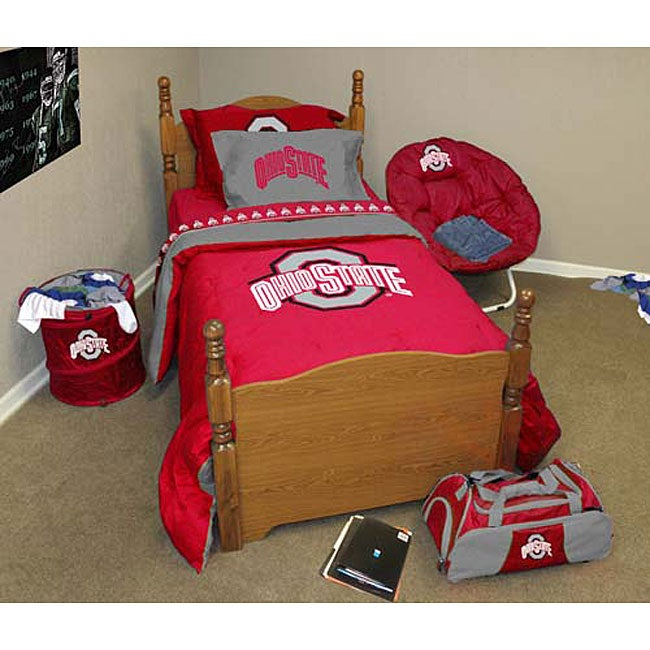 ohio state bedroom shop ohio state bedding ensemble free shipping today 12731