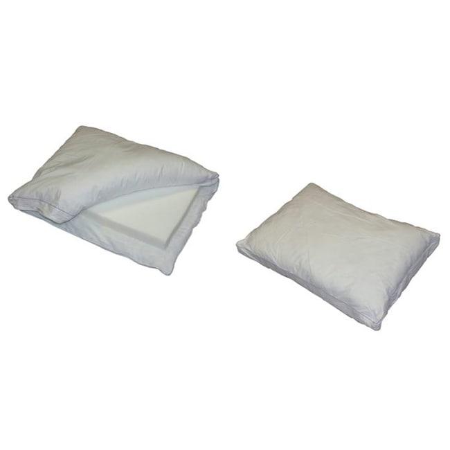 Memory Foam Gusseted Standard Pillow