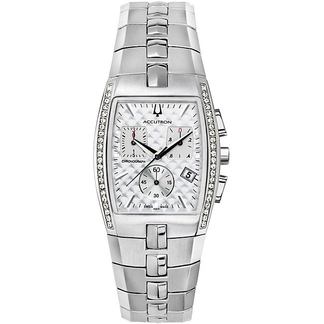bulova mens diamond watches best watchess 2017 accutron by bulova men s chronograph diamond watch shipping