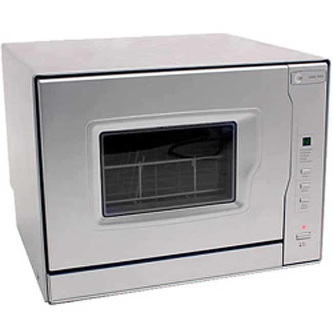 Countertop Dishwasher Built In : EdgeStar Silver Portable Countertop Dishwasher - Free Shipping Today ...